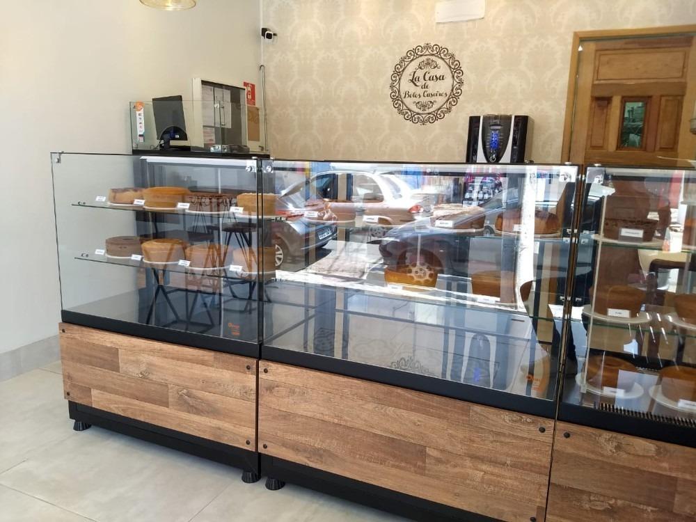 vendo ponto comercial com instalações confeitaria bolos pães