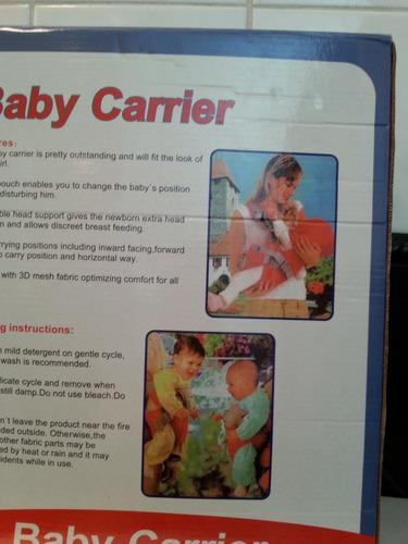vendo porta bebe baby carrier