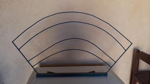 vendo porta velas para 50 años y porta letras de hierro