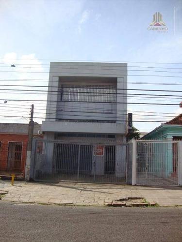 vendo prédio comercial, próximo a terceira perimetral e oscar pereira, bairro glória em porto alegre rs - pr0026