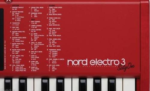vendo presets para nord electro 3 mais de 150 presets