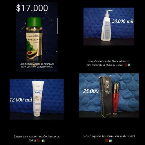 vendo productos oriflame