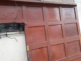 Vendo Puerta De Garage De Madera Caoba De 3mx2 20m
