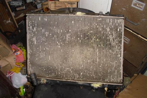 vendo radiador de mitsubishi nativa, año 2000 de cambio
