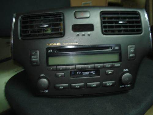 vendo radio de cd, casette de lexus original