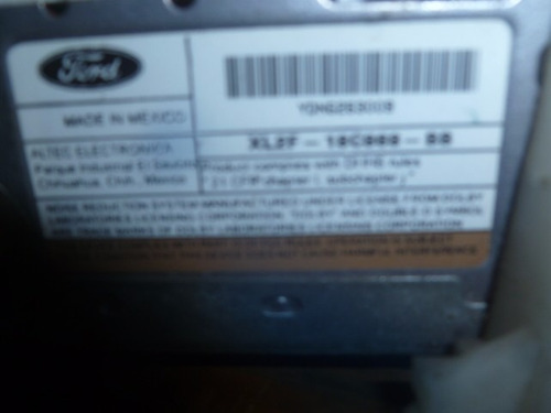 vendo radio  de ford o lincoln, xl2f-18c868-bb, original