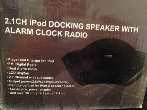 vendo radio utech aux in ipod fm excelente sonido