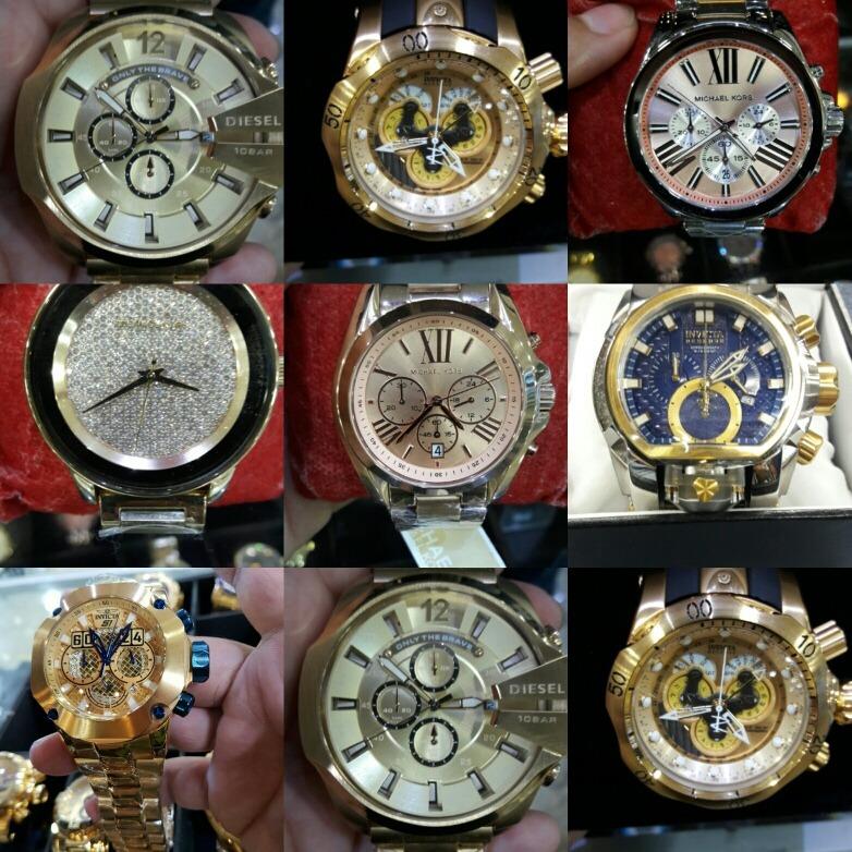 38fae933d57 Vendo Relógio Feminino E Masculino Diversas Marcas E Modelos - R ...