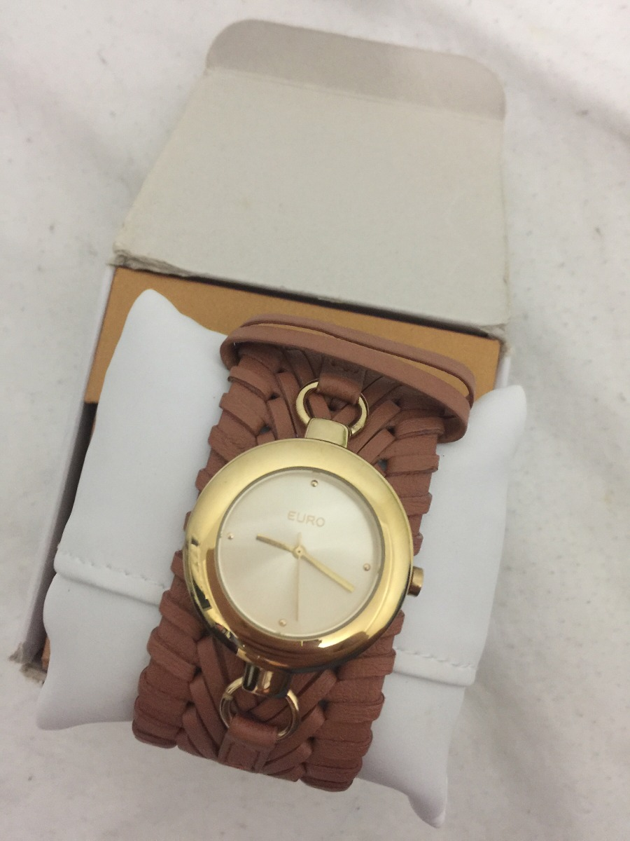 1d4b6da0c59 Vendo Relógio Feminino Euro