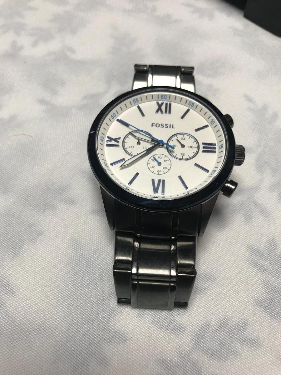 9338f25d96e Vendo Relógio Fossil Por Menos Da Metade Do Preço - R  500