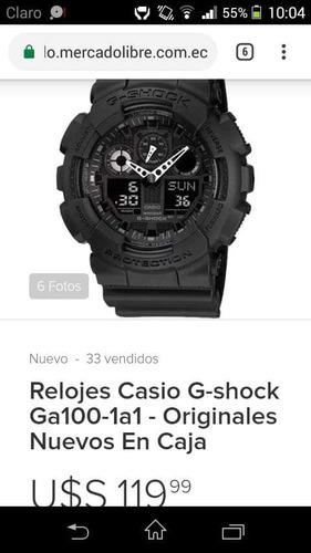 vendo reloj casio original con garantía