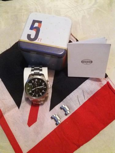 vendo reloj fossil original en perfecto estado con caja y ac