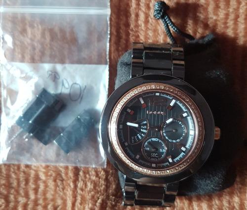 vendo reloj modus ceramica negro