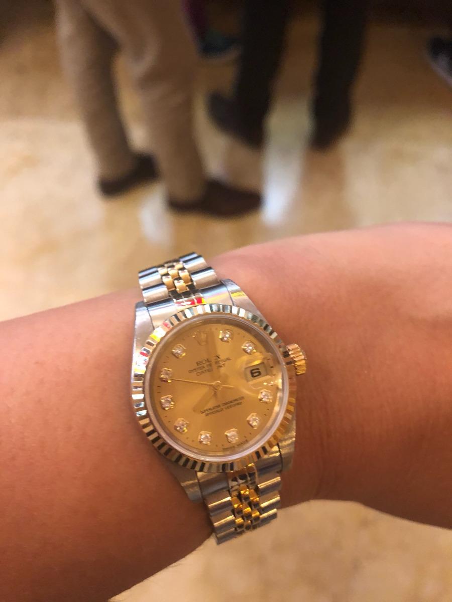separation shoes 732b4 d654f Vendo Reloj Rolex Dama Con Diamantes Y Oro Amarillo - $ 92,000.00