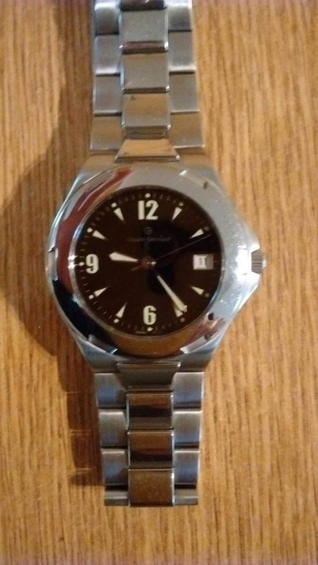 e1601bb02b27 vendo reloj suizo claude bernard con cristal de zafiro. Cargando zoom.
