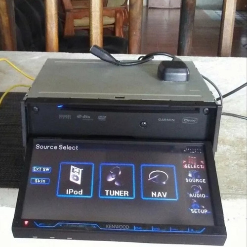 vendo reproductor kenwood modelo dnx 7120 navigator (garmin)