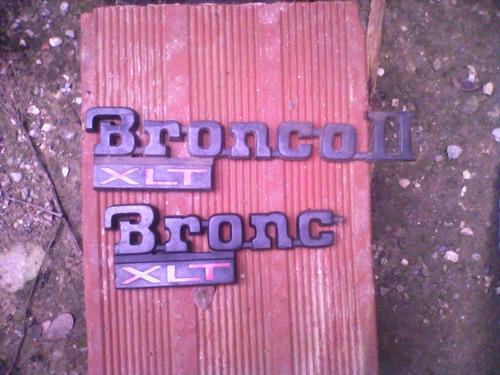 vendo repuestos usados para bronco ii