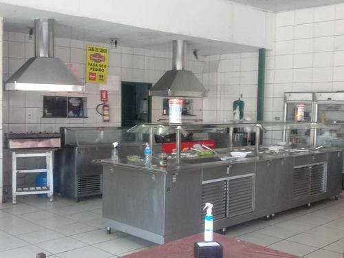 vendo restaurante completo com todas instalações