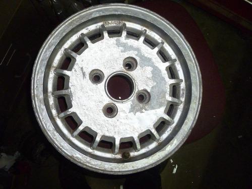 vendo rin, # 13 en aluminio, 4 huecos