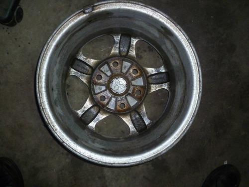 vendo rin mitsubishi montero o nativa # 16, 6 hueco aluminio
