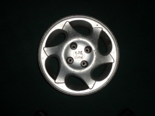 vendo rin peugeot, # 15, aluminio