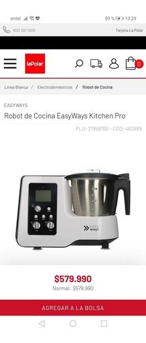 vendo robot de cocina easy ways nuevo