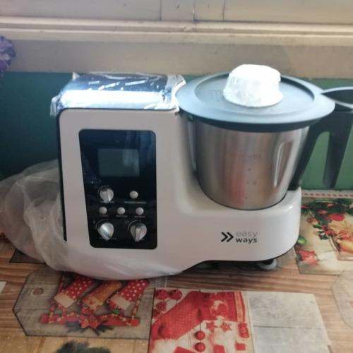 vendo robot de cocina nuevo blanco con negro