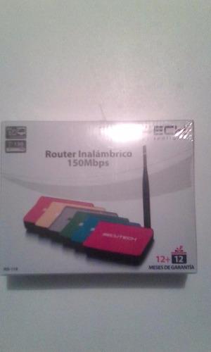 vendo router nuevo de paquete buena marca 100% confiable