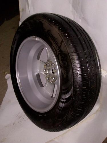 vendo rueda completa  de chevrolet tracker de 16