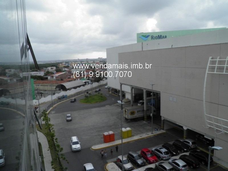 vendo sala comercial de 44,30m² no empresarial riomar trade center - c011127 - 32237613