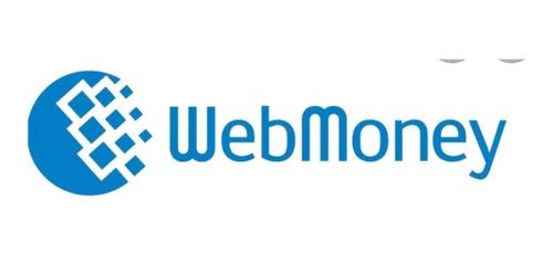 vendo saldo webmoney