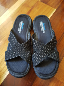 Negras Plateado Con Sandalias Vendo Skechers MqUzSGVp