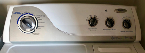 vendo secadora eléctrica marca: whirlpool de 17 kilos