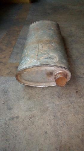 vendo silenciador usado en buenas condiciones