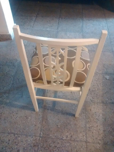 vendo silla antigua reciclada ideal para decorar cuarto