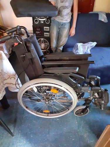 vendo silla de ruedas  impecable