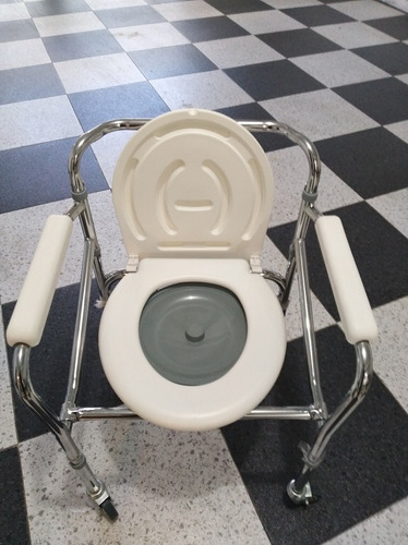 vendo silla de ruedas sanitaria baño