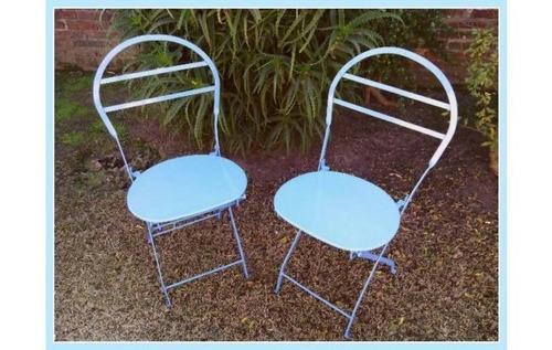 vendo sillas quilmes plegables.