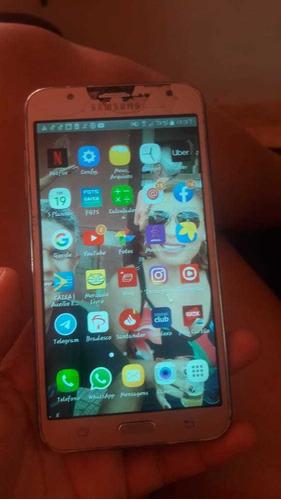 vendo smartphone j7 16gb de memória interna