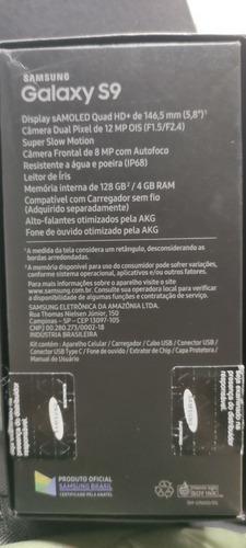 vendo smartphone samsung s9 usado com a tela trincada