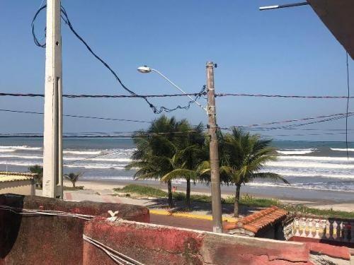vendo sobrado de frente paro o mar itanhaém litoral sul sp
