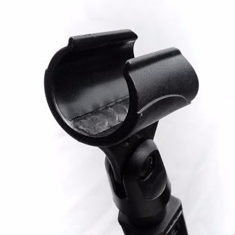 vendo soporte para micrófonos universal  ajustable