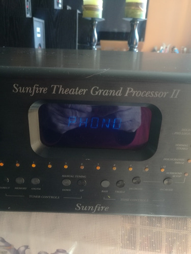 vendo sunfire theater grand processor ii