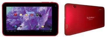 vendo. tablet. tech pad en. 1400. roja. todo  original