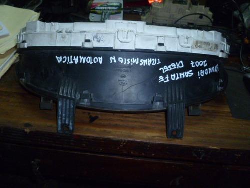 vendo tacométro velocimetro de hyundai santa fe, año 2007