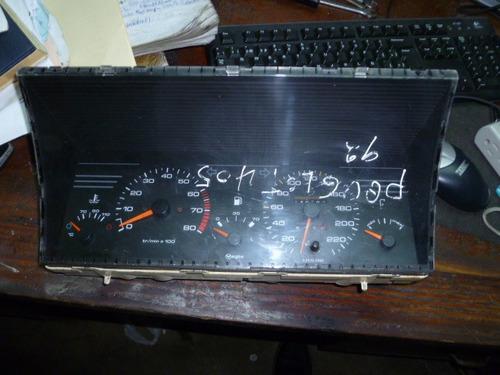 vendo tacómetro velocimetro de peugeot 405, año 1992