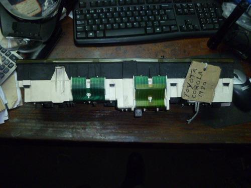 vendo tacometro velocimetro de toyota corona, año 1980