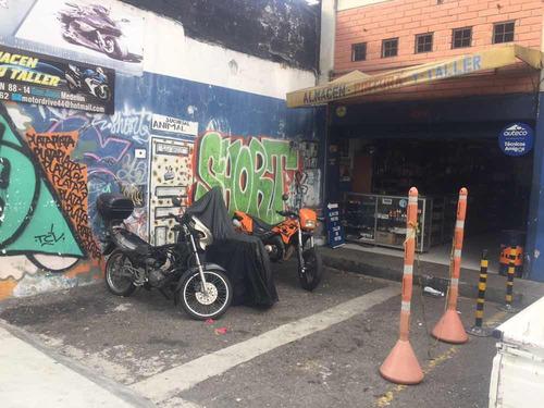 vendo taller de motos y almacén de repuesto