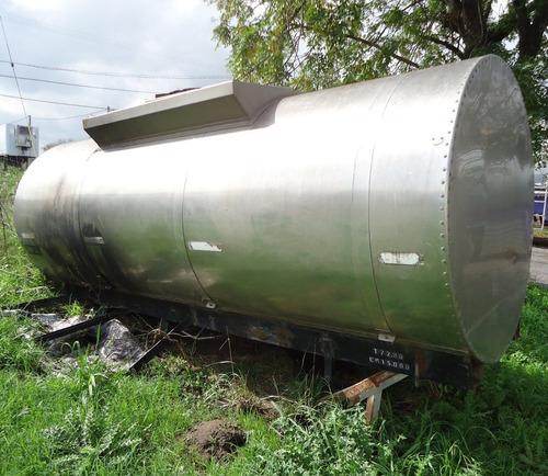vendo tanque chasis melasa 6.000 litros de acero inoxidable