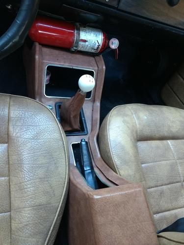 vendo taunus coupe con gnc 1977